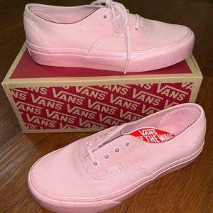 Vans Pink Authentic Sneakers